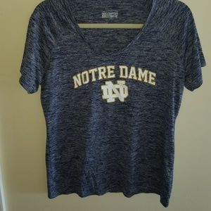 Notre Dame Semi Fitted Underarmour Tee